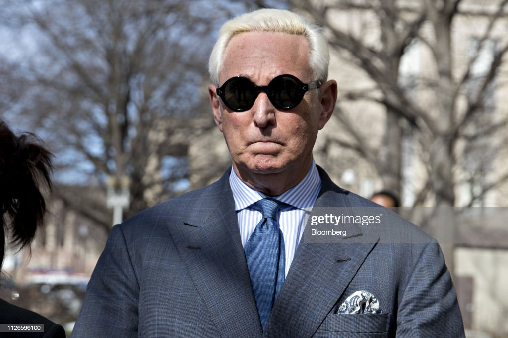 DC: Donald Trump Associate Roger Stone Attends Court Hearing