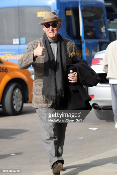 Roger Stone is seen on February 03 2019 in Arlington Virginia