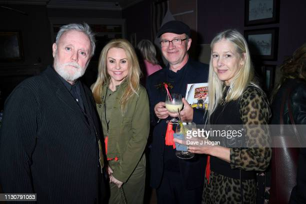 Roger Taylor and Harry Enfield attend the opening night of Only Fools and Horses The Musical at Theatre Royal Haymarket on February 19 2019 in London...