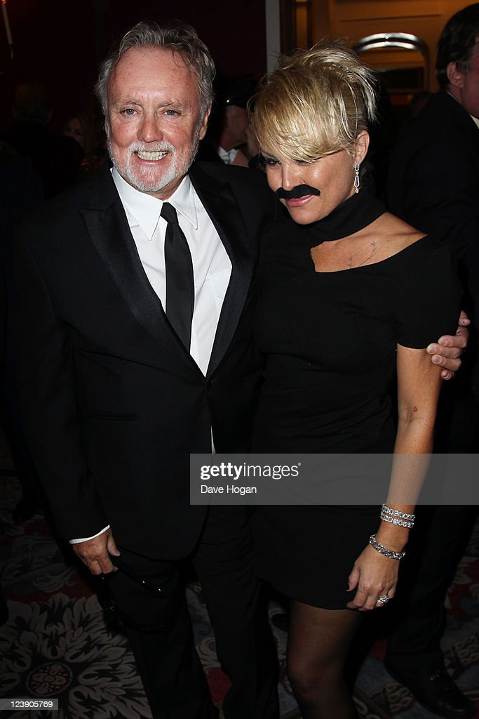 Roger Taylor and Sarina Potgieter attend the Freddie For A Day 65th birthday anniversary at The Savoy Hotel on September 5, 2011 in London, United Kingdom.