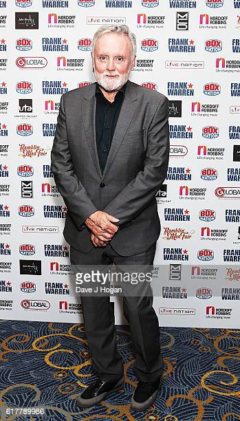 Roger Taylor attends the Nordoff Robbins Boxing Dinner at the London Hilton Park Lane on October 24 2016 in London England