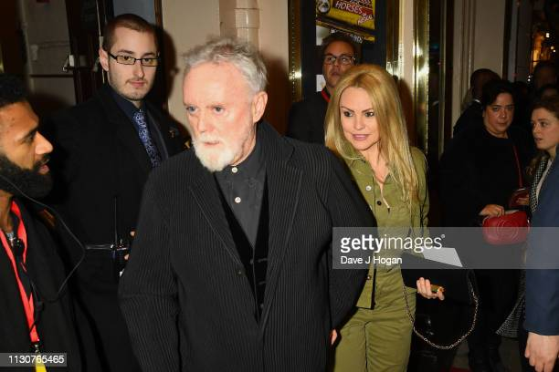 Roger Taylor attends the opening night of Only Fools and Horses The Musical at Theatre Royal Haymarket on February 19 2019 in London England
