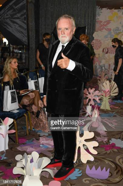 Roger Taylor attends the VIN + OMI show during London Fashion Week September 2021 on September 21, 2021 in London, England.