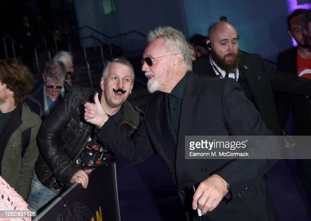 Roger Taylor attends the World Premiere of 'Bohemian Rhapsody' at SSE Arena Wembley on October 23 2018 in London England