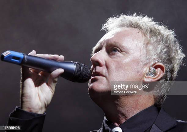 Roger Taylor of Queen during We Will Rock You Charity Performance to Celebrate Freddie Murcury's 60th Birthday at The Dominion Theatre in London,...