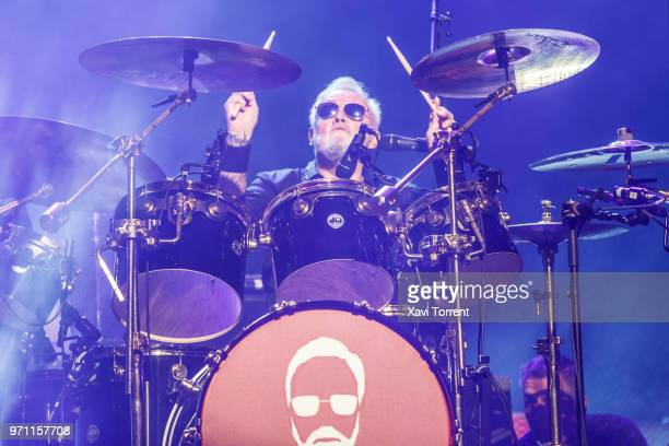 Roger Taylor of Queen performs in concert at Palau Sant Jordi on June 10 2018 in Barcelona Spain