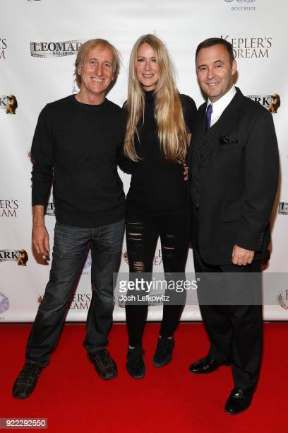 Roger Tonry actor Robin Lynch and David Beeler attend the screening of Kepler's Dream at Regency Plant 16 on November 30 2017 in Van Nuys California