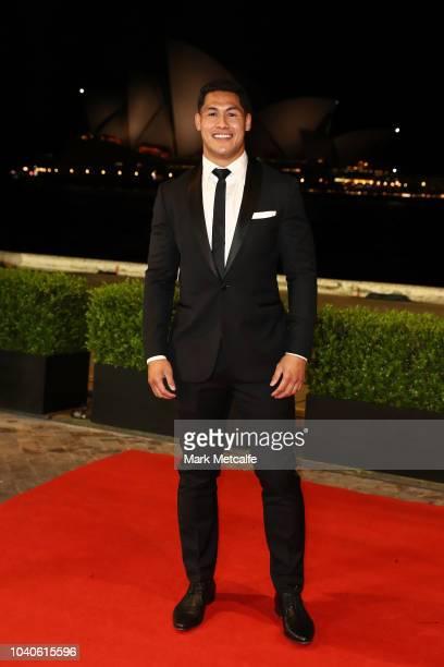Roger TuivasaSheck arrives at the 2018 Dally M Awards at Overseas Passenger Terminal on September 26 2018 in Sydney Australia