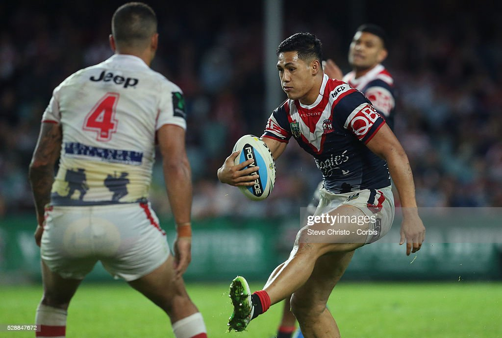 Rugby League - ANZAC Cup - Sydney Roosters vs. St George Illawarra Dragons : News Photo