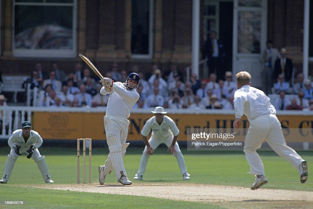 Roger Twose batting for Warwickshire , Benson and Hedges Cup Final, Lord's 1994