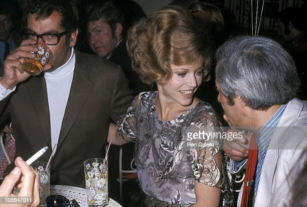 Roger Vadim and Jane Fonda during Opening of Wednesday's Nightclub in New York City May 17 1968 at Wednesday's Nightclub in New York City New York...