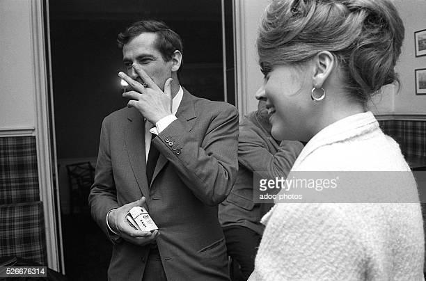 Roger Vadim and Jane Fonda In 1964