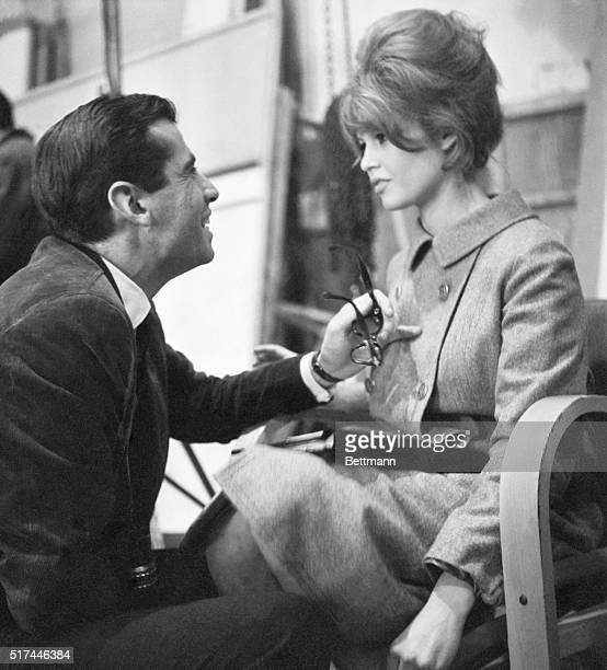 Roger Vadim directs his exwife Brigitte Bardot in the 1961 film La Bride Sur le Cou
