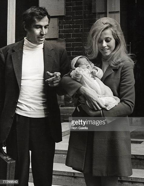 Roger Vadim Vanessa Vadim and Jane Fonda