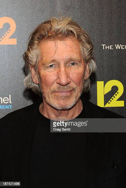 Roger Waters attends the 121212 screening at Ziegfeld Theater on November 8 2013 in New York City