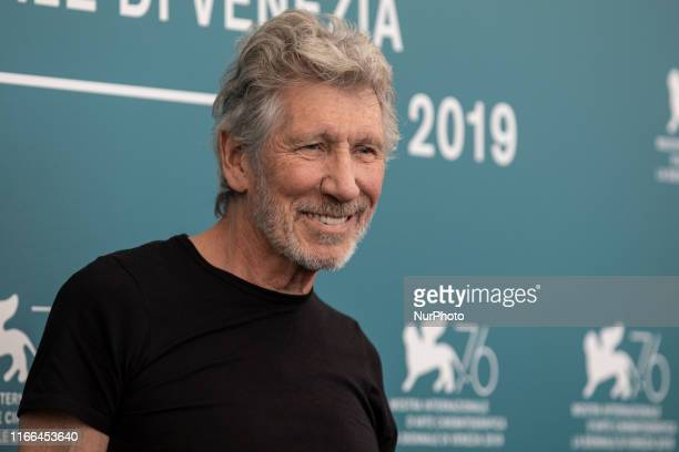 Roger Waters attends the ''Roger Waters Us + Them'' Photocall during the 76th Venice Film Festival at on September 06, 2019 in Venice, Italy.