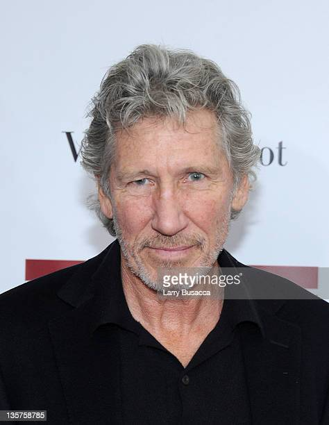 Roger Waters attends the 'The Iron Lady' New York premiere at the Ziegfeld Theater on December 13 2011 in New York City
