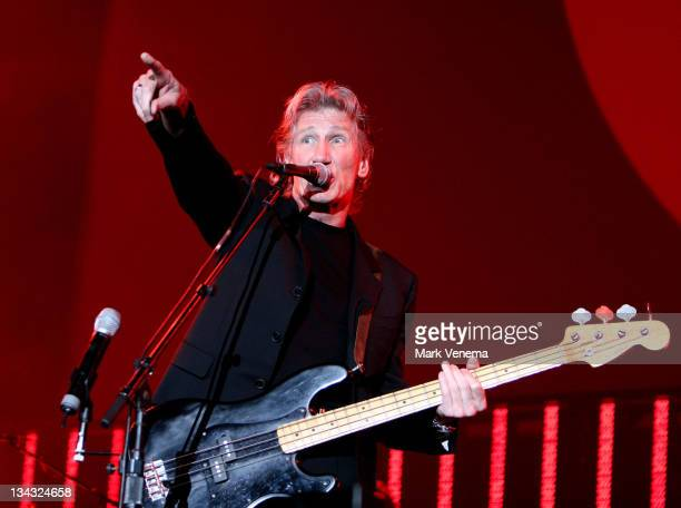 Roger Waters during Roger Waters Live at the Ahoy in Rotterdam July 7 2006 at Ahoy in Rotterdam Netherlands