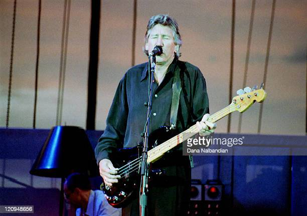 Roger Waters in concert during Roger Waters Performs at the Gorge in George June 30 2000 at The Gorge in George in George Washington United States