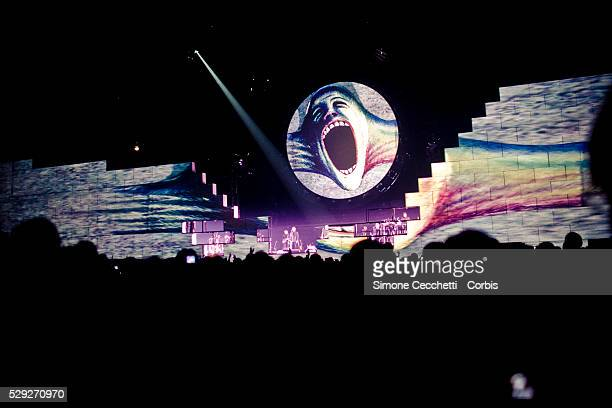 Roger Waters perform The Wall live in Milan