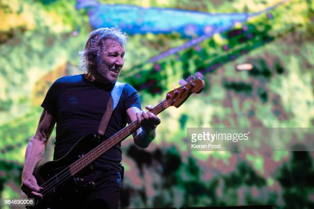 Roger Waters performs at 3Arena Dublin on June 26 2018 in Dublin Ireland