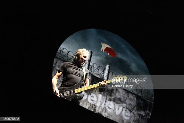 Roger Waters performs at Aviva Stadium on September 18 2013 in Dublin Ireland