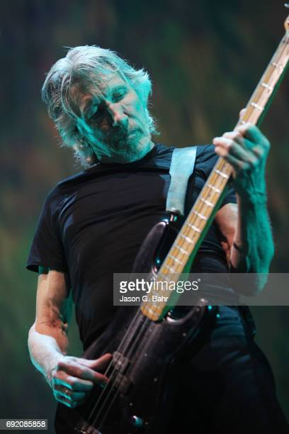 Roger Waters performs at Pepsi Center on June 3, 2017 in Denver, Colorado.