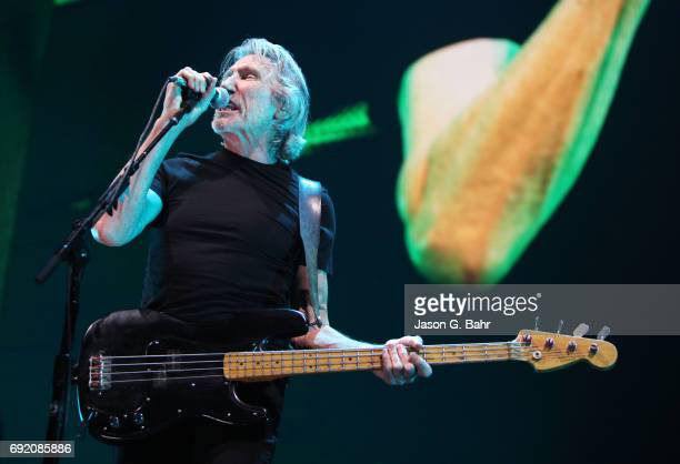 Roger Waters performs at Pepsi Center on June 3 2017 in Denver Colorado