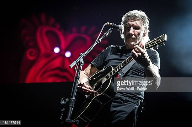 Roger Waters performs at Stade de France on September 21 2013 in Paris France