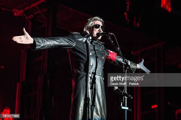 Roger Waters performs at Stade de France on September 21, 2013 in Paris, France.