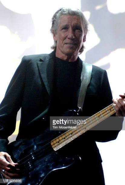 """Roger Waters performs during his """"Dark Side of the Moon"""" tour at Oakland Arena on June 19, 2007 in Oakland, California."""