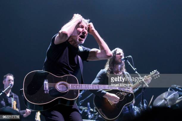Roger Waters performs in concert at Wizink center on May 24, 2018 in Madrid, Spain.