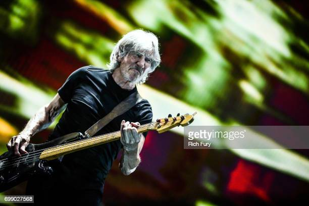 Roger Waters performs on stage at the Staples Center on June 20 2017 in Los Angeles California