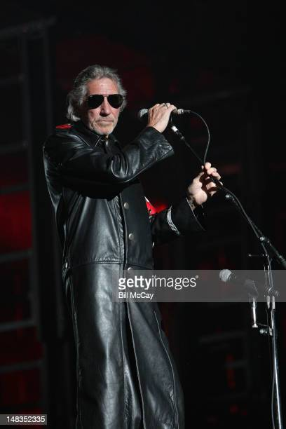 Roger Waters performs ' The Wall ' at Citizens Bank Park July 14 2012 in Philadelphia Pennsylvania