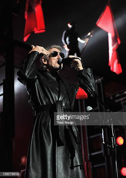 Roger Waters performs 'The Wall' at Madison Square Garden on October 5 2010 in New York New York