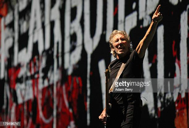 Roger Waters Performs 'The Wall' at Olympiastadion on September 4 2013 in Berlin Germany