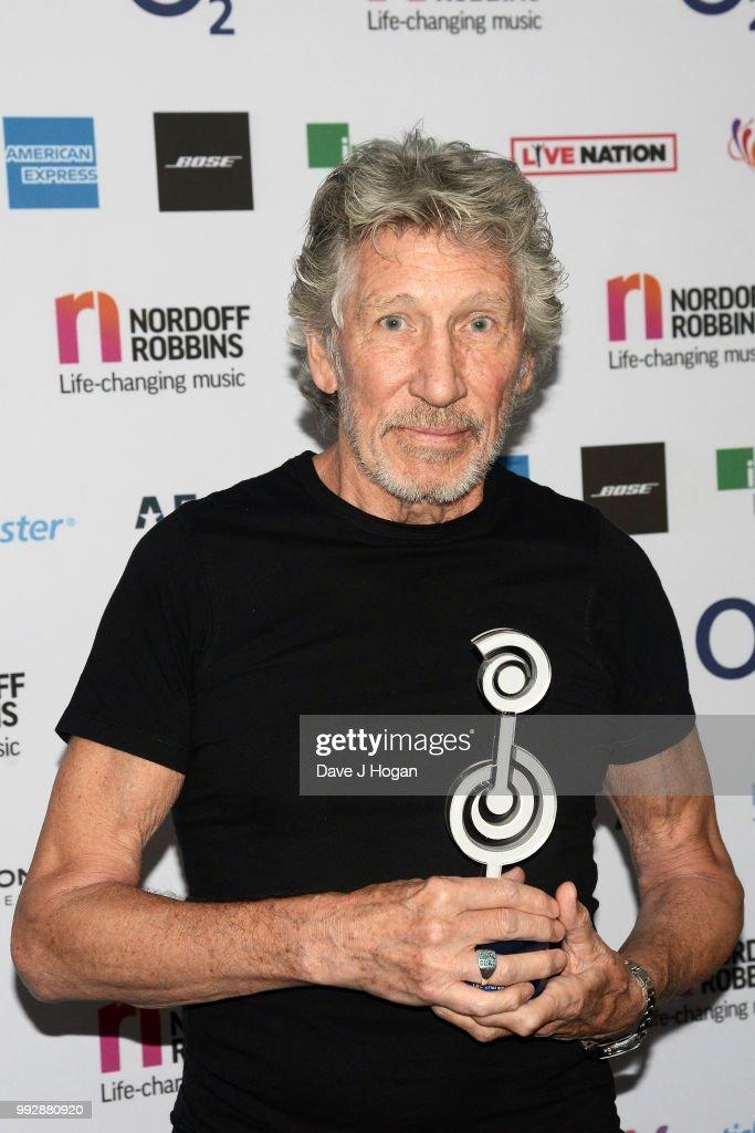 Nordoff Robbins O2 Silver Clef Awards - Winners Room