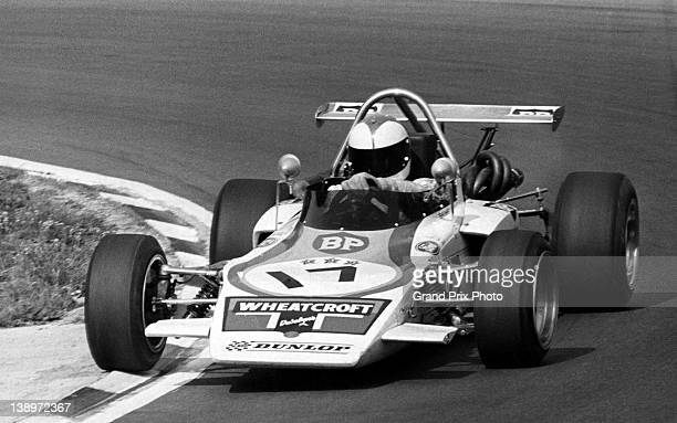Roger Williamson of Great Britain drives the Wheatcroft Racing GRD 372 Ford/Holbay during the B.R.S.C.C. MCD Shell Super Oil British Formula 3...