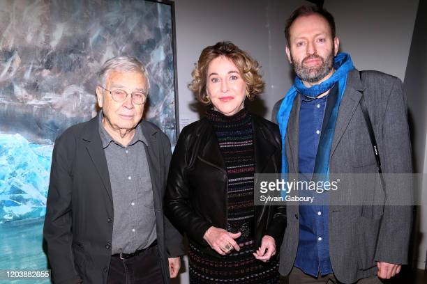 Roger Winter, Barbara Hines and Alexander McQueen Duncan attend Iceland From The Outside on February 03, 2020 in New York City.