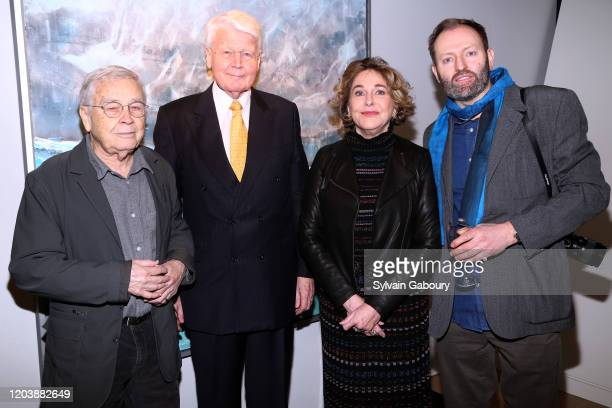 Roger Winter, Olafur Ragnar Grimsson, Barbara Hines and Alexander McQueen Duncan attend Iceland From The Outside on February 03, 2020 in New York...