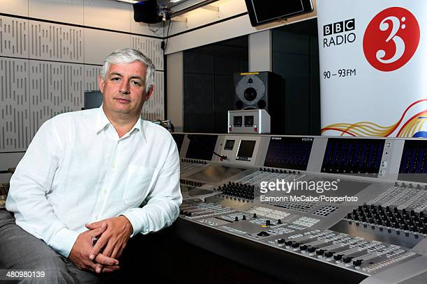 Roger Wright Controller of BBC Radio 3 and Director of The Proms portrait in the studios of BBC Radio 3 London 6th July 2008