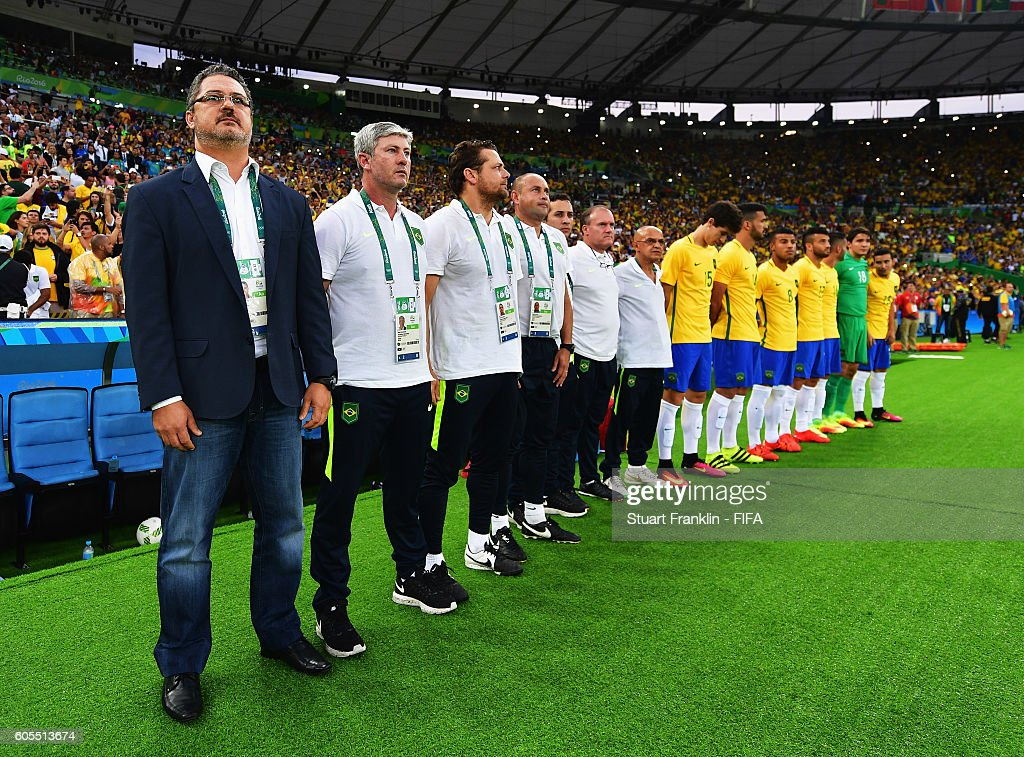 Brazil v Germany: Men's Football - Olympics: Day 15 : News Photo