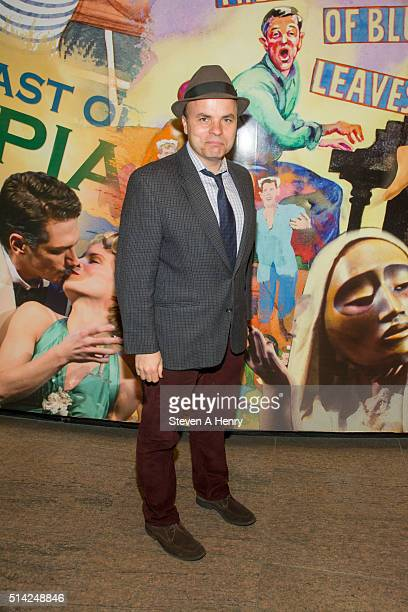 "Rogers attends ""The Royale"" Opening Night at Mitzi E. Newhouse Theater Lobby on March 7, 2016 in New York City."
