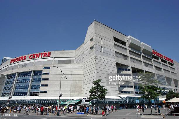 Rogers Centre is shown before the Toronto Blue Jays game against the New York Yankees at Rogers Centre on July 23, 2006 in Toronto, Ontario, Canada....