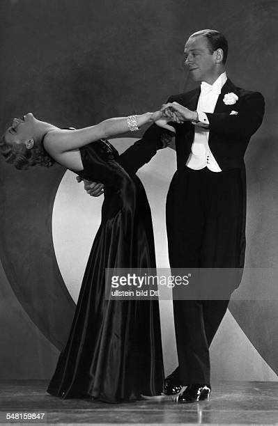 Rogers Ginger * Actress Dancer USA with Astaire Fred Dancer singer actor USA *10051899 Scene from the movie 'Roberta'' Directed by William A Seiter...