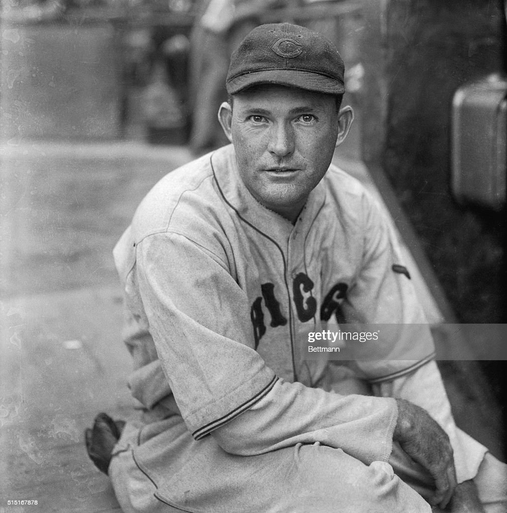 Rogers Hornsby (1896-1963), considered by some to be the greatest right-handed hitter in the history of baseball.