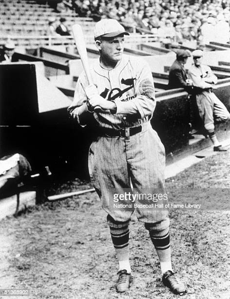 Rogers Hornsby of the St Louis Cardinals poses for portrait Rogers Hornsby played for the St Louis Cardinals from 19151926 and in 1933