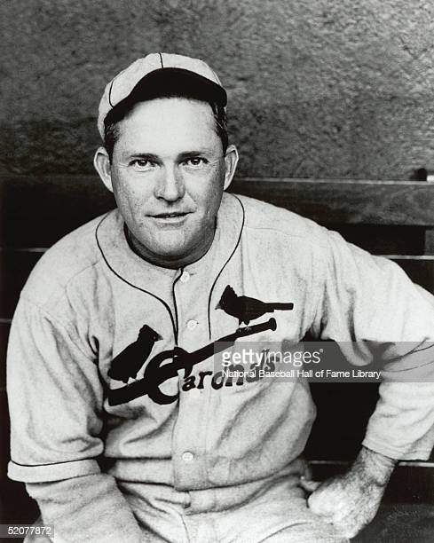 Rogers Hornsby of the St Louis Cardinals poses in the dugout during a season game Rogers Hornsby played for the St Louis Cardinals from 19151926 and...