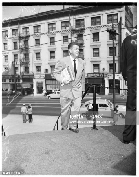 Rogers suit July 13 1951 Emmet LaveryAttorney Max FinkMorrie ReskindMrs Lela Rogers
