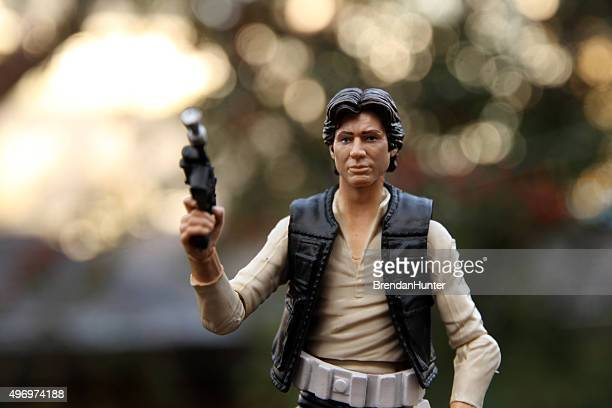 roguish - han solo stock pictures, royalty-free photos & images